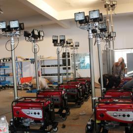 自由光BT6000A全方位自动升降工作灯移 动照明车,工程抢险灯