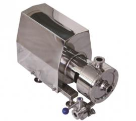 管线式高剪切单级乳化泵 304不锈钢混合均质分散泵