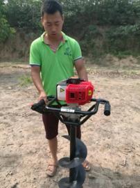 田园种植用小型手提挖洞机
