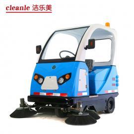 YSD-1850驾驶式扫地车半封闭工厂学校公园用全自动清扫车扫地机