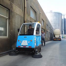 电动马路环卫车驾驶式扫地机大型场地工地清洁垃圾扫地机清扫车