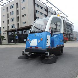 驾驶扫地机码头大型工地洒水清扫车物业小区柏油马路吸尘扫地机
