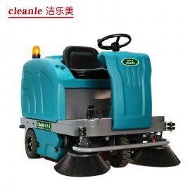 洁乐美YSD-1400驾驶式扫地车工厂车间扫地机道路用吸尘清扫车