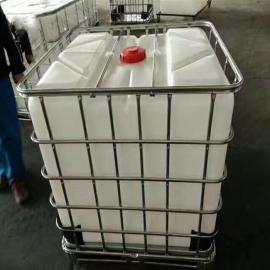 二手吨桶IBC集装液体桶/塑料桶食品级/1000L1000公斤塑胶方桶