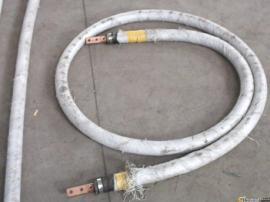 鸿峰电石厂用DN95mm天然橡胶10kg压力夹布石棉水冷电缆胶管