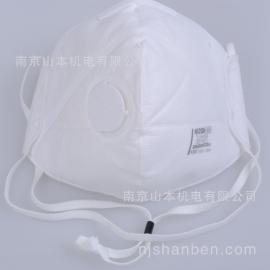 日本重松DD02V-N95防护口罩带阀防尘防雾霾 原装现货