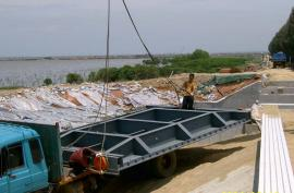 飞瀑钢制水利闸门 钢制闸门控制 钢制叠梁闸门