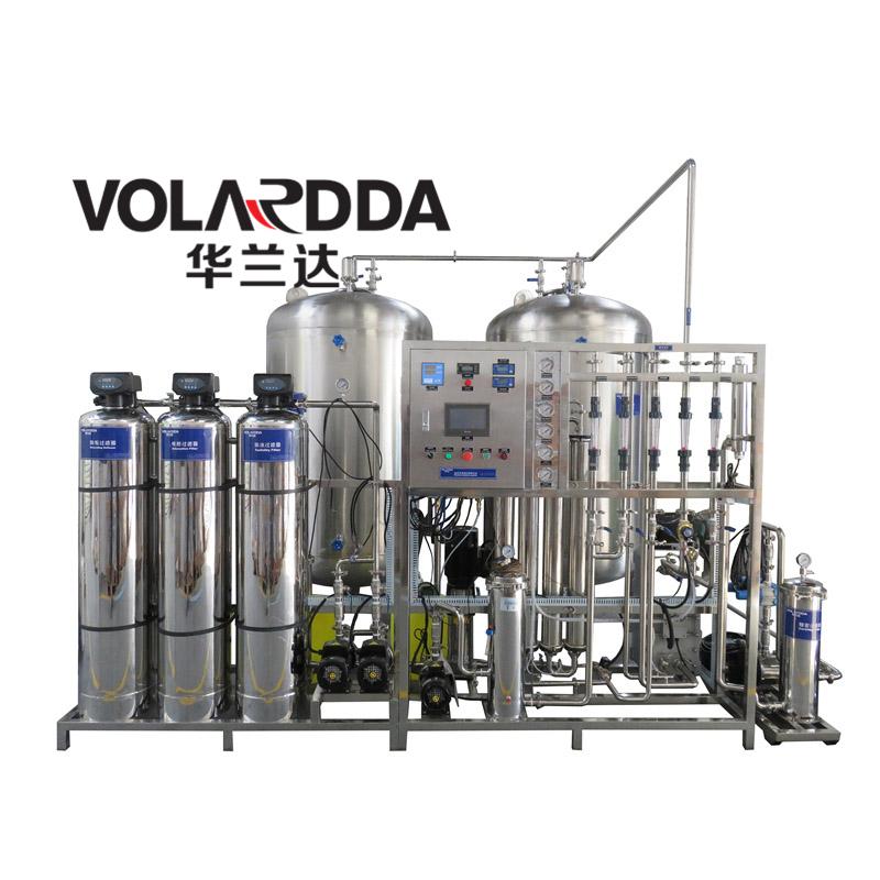 厂价热销edi超纯水设备 2吨单级反渗透+EDI模块 出水电导率极低