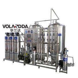 直供医药厂1T/H全不锈钢双级反渗透纯净水设备 EDI高纯水装置