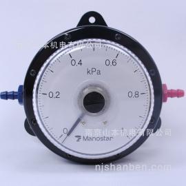 Manostar 日本 山本电机压力表 差压计 W081FN1E