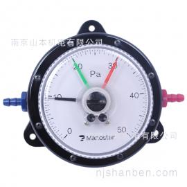 日本Manostar山本电机压力表微差压计WO81FT50DV
