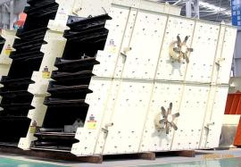 圆振动筛|原煤振动筛|单轴椭圆振动筛-振动筛厂家