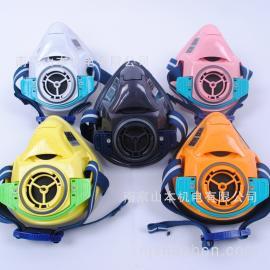 日本STS重松制作所防�m防�o面具面罩TW01SC