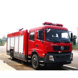 最新款东风6吨水罐消防车