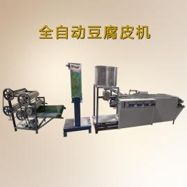 工厂热销全自动豆腐皮机设备金盛达不锈钢豆腐皮机设备