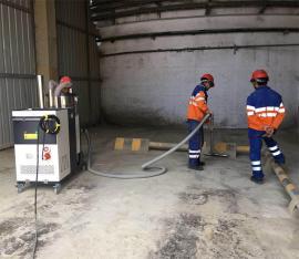 威德尔电脉冲工业吸尘器C007AI反吹滤芯清灰大型吸尘器7500W电机