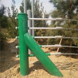 喷塑五索缆索护栏缆瑞B级缆索护栏设计图