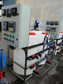 全自动不锈钢循环水加药设备