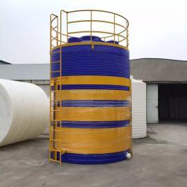 30吨水处理储罐、PE储罐、耐酸碱耐腐蚀储罐、滚塑一次成型加厚