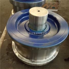 直径200欧式车轮 欧式起重机大小车行走轮 欧式天车轮 非标定制