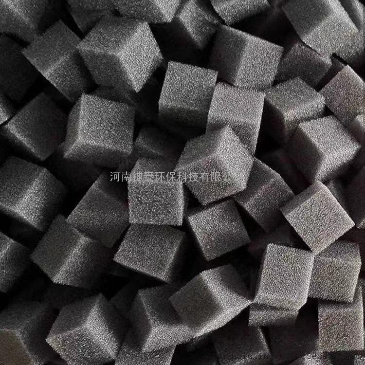 聚氨酯海绵填料污水处理,聚氨酯发泡海绵填料