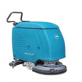洁驰手推式全自动洗地机BA530BT车间食堂仓库用电瓶洗地吸干机