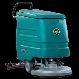 洁驰全自动洗地机BA730BT工厂车间地下室用电瓶式洗地吸干机