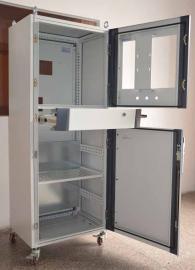PC豪华电脑机柜 pc电脑斜面控制柜 仿威图机柜 车间电脑机柜