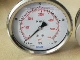 进口备件WIKA压力表Model: B70