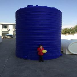 帝豪滚塑30立方塑料储罐|PE储罐|30吨滚塑储罐
