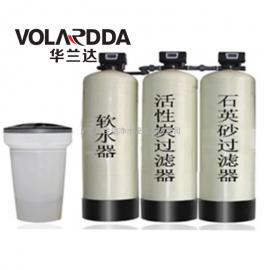 酒店热水器结水垢 沐浴用水硬度高 用华兰全自动软化水设备处理