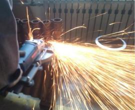 华沃锅炉排管切割机,便携式管道切割机