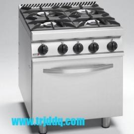 FAGOR CG7-41 四头燃气炉连烤箱 法格燃气煲仔炉连焗炉