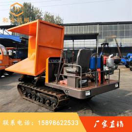 西华山履带沼泽运输片石链轨车生产厂家