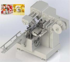 全自动巧克力单双扭结包装机
