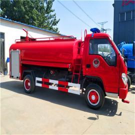 小型3吨水罐消防车