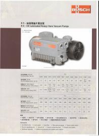 德国BUSCH普旭真空泵R5系列RA0025F