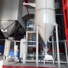 引持现场安装施工气力输送系统 气力输灰系统 除尘器 旋转供料器