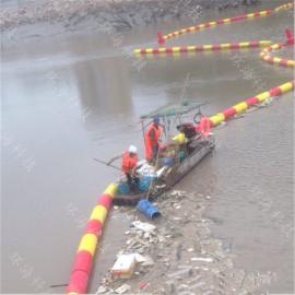 水上无缝连接有效拦截垃圾浮筒环保绿色产品