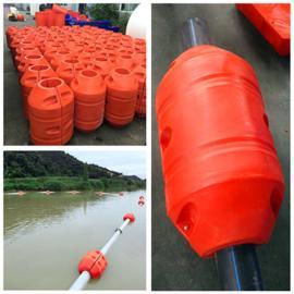 夹抽沙管道抽淤泥管道抽水管道各种口径大浮力浮筒