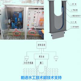 冲洗堰门设计安装标准