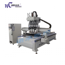 木工全自动开料机 板式家具生产线 四工序数控下料机
