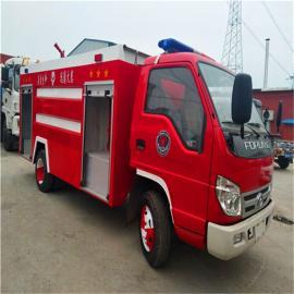 森林水罐消防车