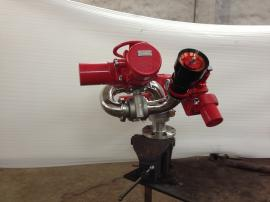 防爆型电控消防水炮