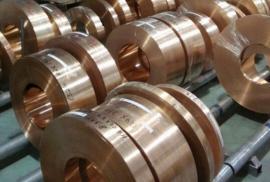 高弹性C1990钛铜带,日矿C1990-EH钛铜带
