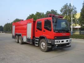 庆铃五十铃11吨水罐消防车年底优惠|五十铃水罐消防车
