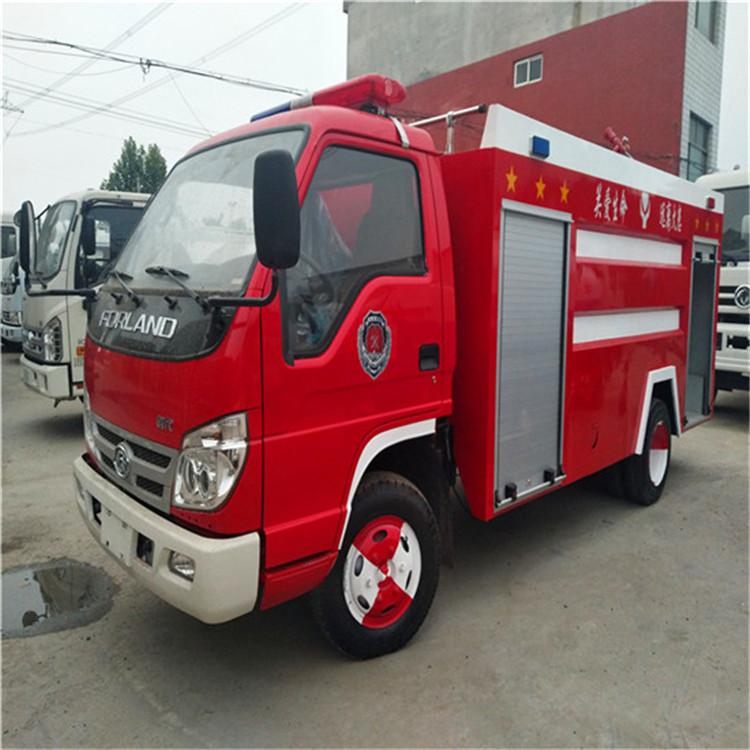 福田小卡水罐消防车