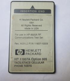 出售HP11807A 安捷伦11807A 无线电测试软件