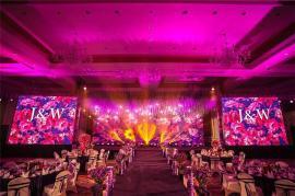 宴会厅LED显示屏多少钱P3全彩电子屏品牌报价