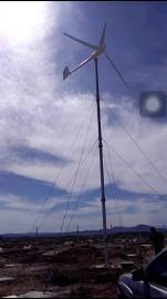 防雷500瓦小型风力发电机户外500w24V整套系统 2018环保